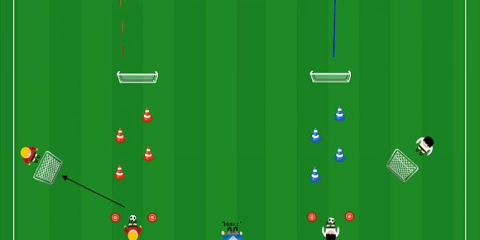 Apprendimento Tecnico-Tattico Guida della palla e 1v1