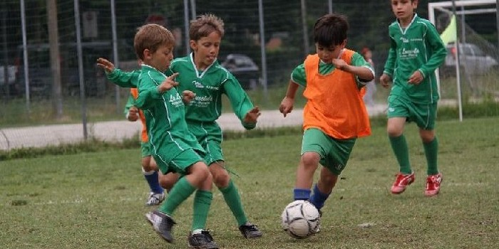 Torneo Scuola Calcio Una fase di gioco
