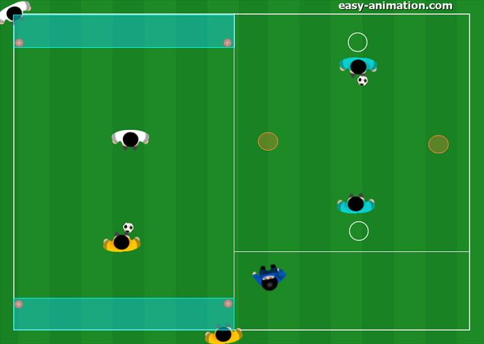 Gioco Semplificato Torneo 1v1 prima insieme poi contro