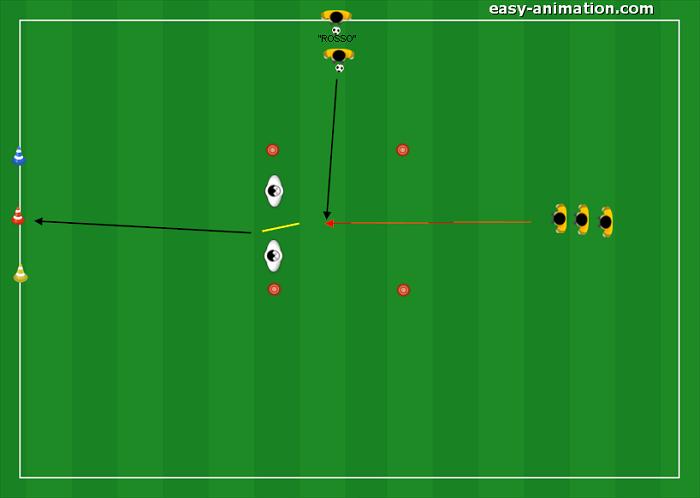 Scuola Calcio Controllo orientato in corsa(3)
