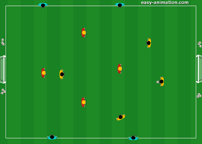 Small Sided Games Sponde in Ampiezza