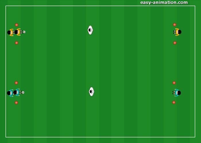 Primi Calci Progressione per la guida della palla(3)
