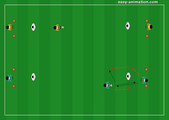 Primi Calci Progressione per la guida della palla(4)