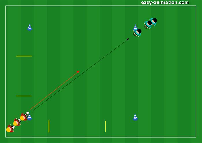 Primi Calci Progressione per la guida della palla(5)