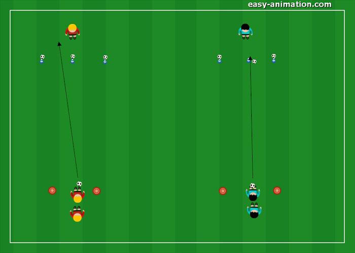 Scuola Calcio Divertimento Imparando il Passaggio(2)