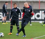FC Bayern Muenchen Training & Press Conference - UEFA Champions League
