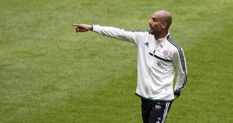 Bayern Munich new head coach Guardiola holds his first team training session in Munich