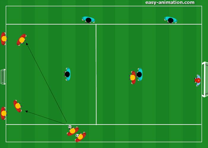 Scuola Calcio Inter doppio 2v1