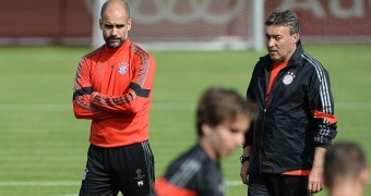 Bayern Munich - training session