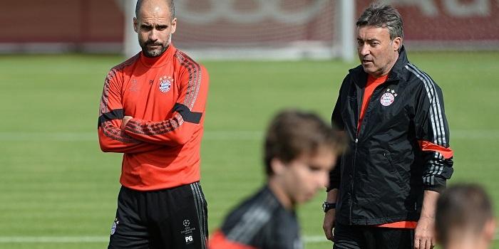 Bayern Munich - training session