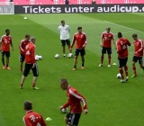 pep-guardiolas-2nd-training-session-at-bayern-munich-ALLENAMENTO