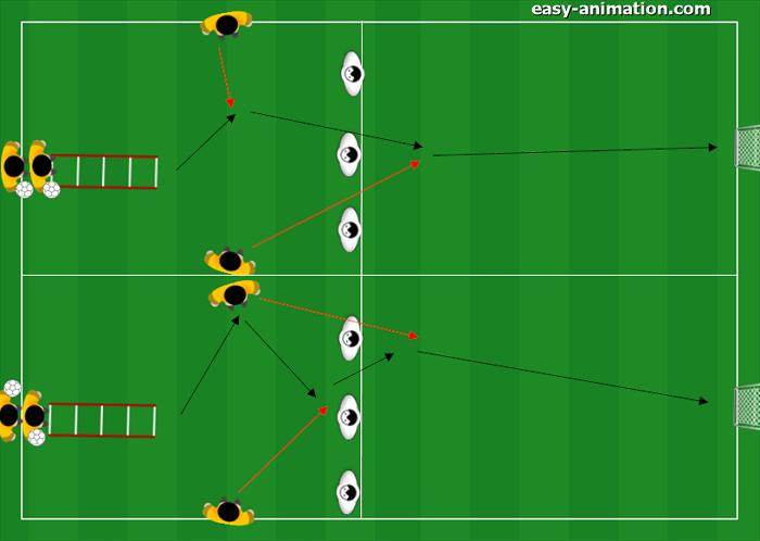 Progressione spazio 20x10 combinazioni a due giocatori