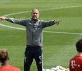 FC Bayern Munich training camp