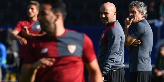 FBL-EUR-SUPERCUP-SEVILLA-TRAINING